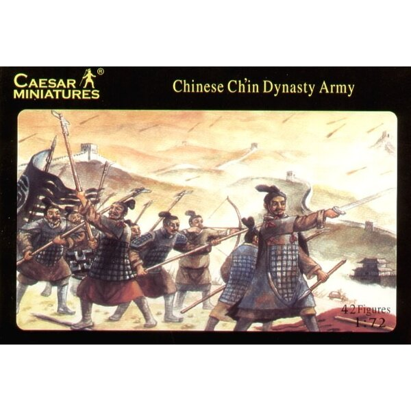 ancient Chinese Ch′in Army x 42 figures