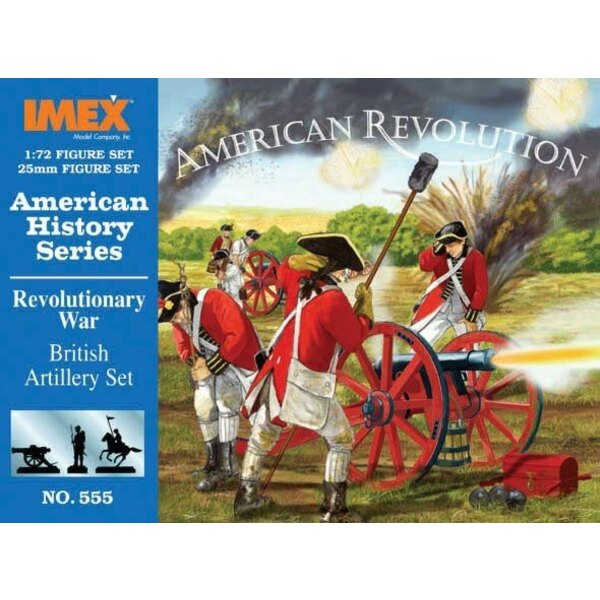 American war of Independence British Artillery