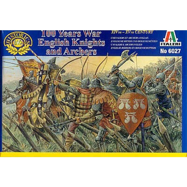 100 Years War English Knights and'Archers
