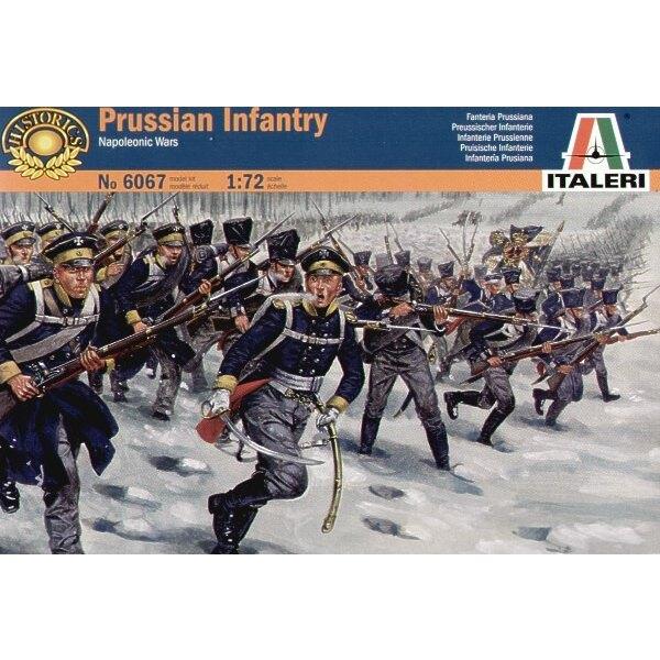 Infantería prusiana de las guerras napoleónicas