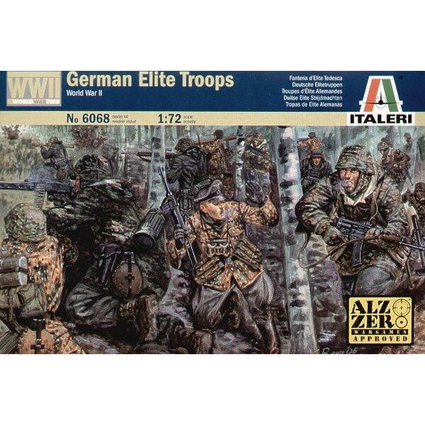 Tropas alemánas de élite de la 2 ª Guerra Mundial
