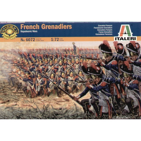 Granaderos franceses de las guerras napoleónicas