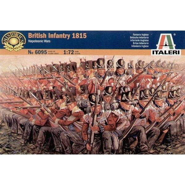 Napoleonic Wars: Infantería Británica 1815