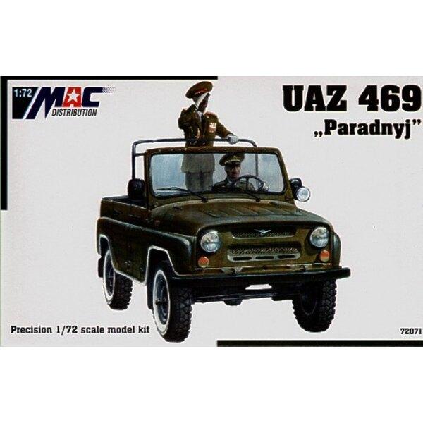 UAZ 469 Paradnyj (Parade car)