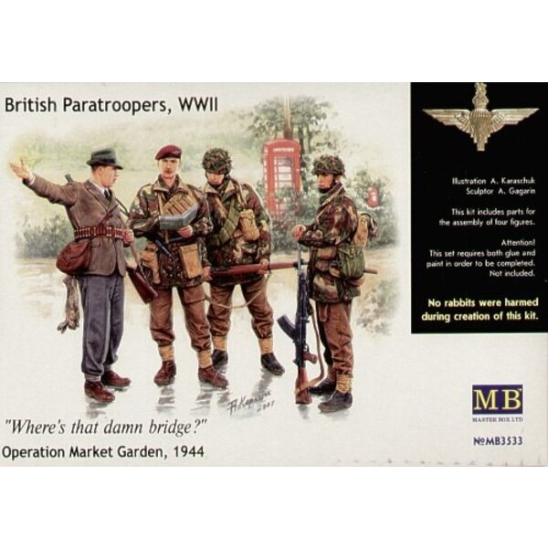 British Paratroopers 1944 Set 1