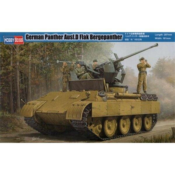 German Panther Ausf D Flak Bergepanther