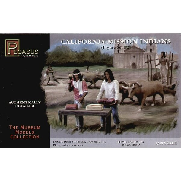 California Mission Indians Set #2