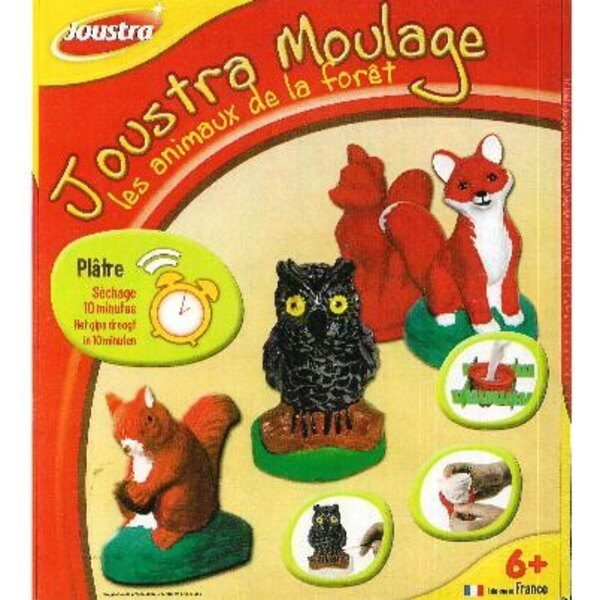 Forest animals molding