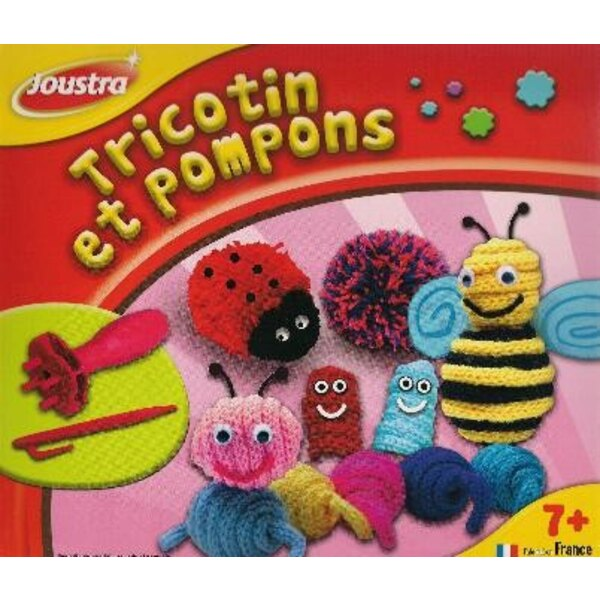 French knitting and Pompoms
