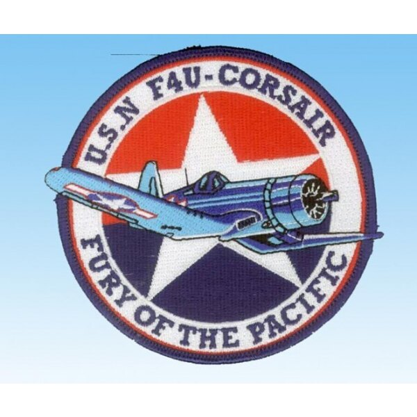 "Patch F-4U Corsair USN ""Fury of the Pacific"""