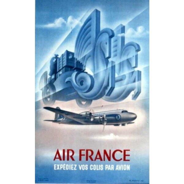 Air France - Expédiez vos colis par Avion -Ponty 1