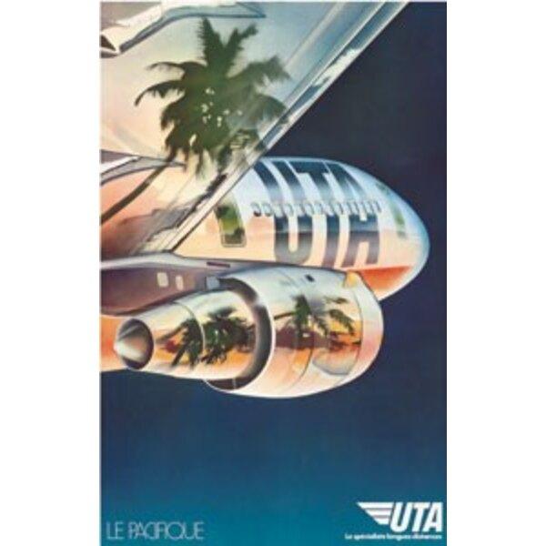 """Air France - UTA """"Le Pacifique""""- Creation Publicis"""