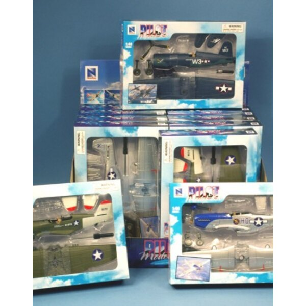 Fighters WWII - Kit (12pcs)