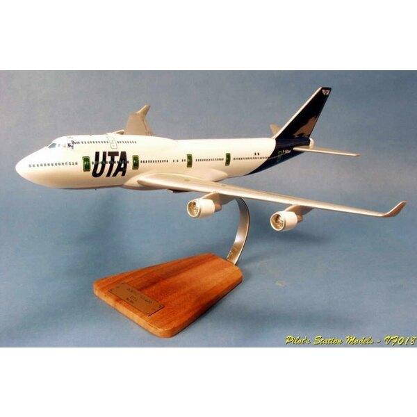 """Boeing 747-400 """"""""Big Boss"""""""" UTA"""