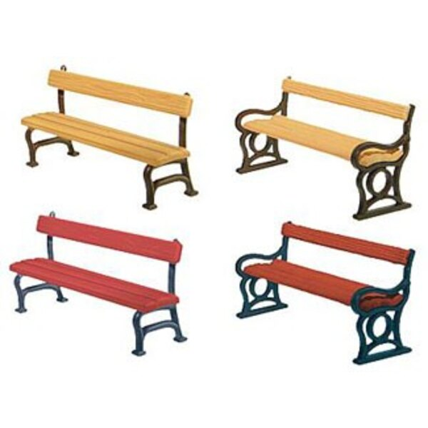 12 Park benches