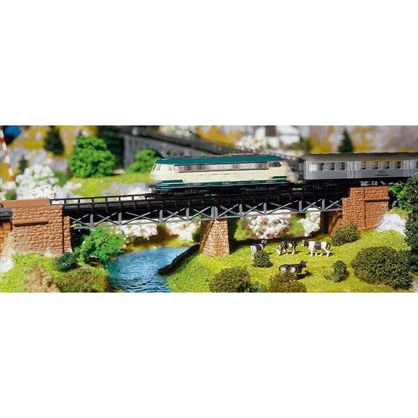 Bridge abutment set