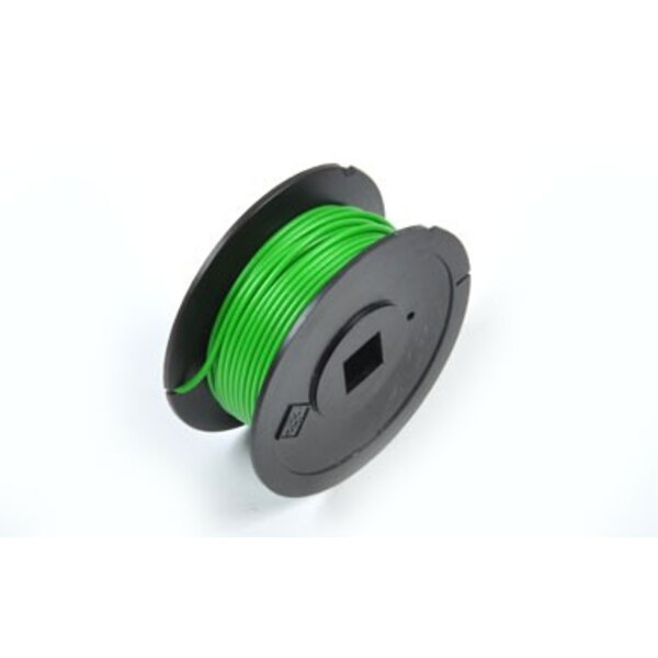 Green electric wire, 10 m