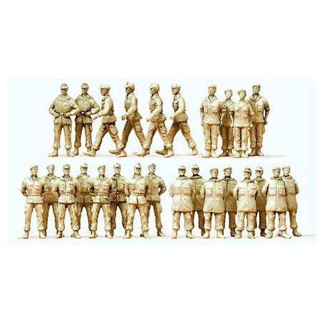 26 soldados Federal Allemangne, pintura