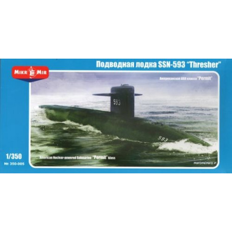 US Nuclear-powered submarine Permit class SSN-593 ˝Thresher˝