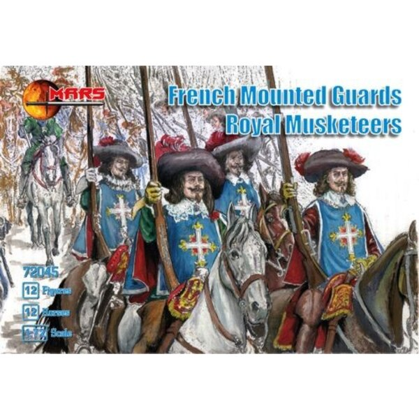 French mounted Guards royal musketeers