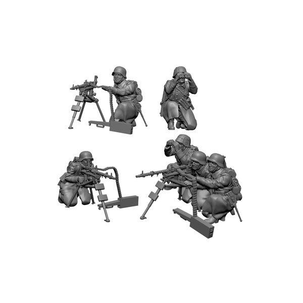 German machine-gunners winter