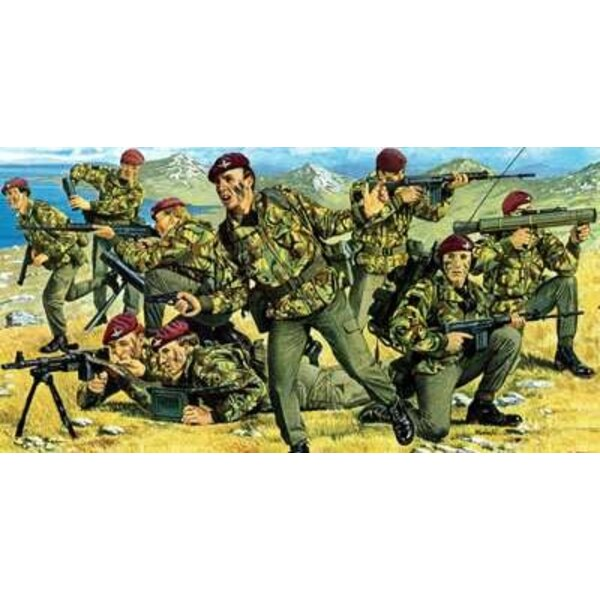 British Parachute troops Falkands