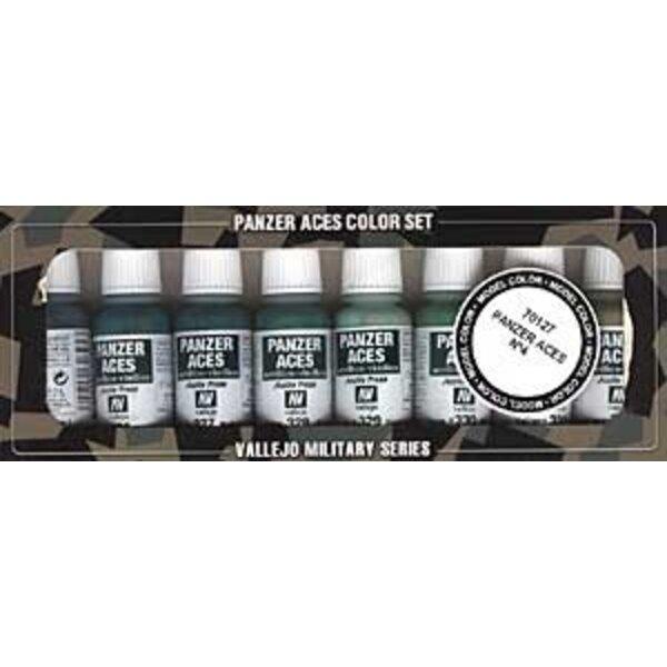 Panzer Aces No.4 Paint Set
