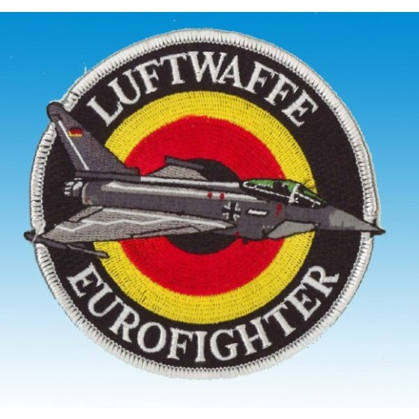 Patch Eurofighter Luftwaffe (plata)