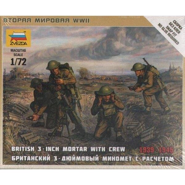 British mortar + crew