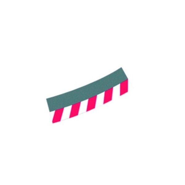 Las fronteras exteriores de peraltada 4/15 ( 12pc ) , puntas ( 2 piezas )