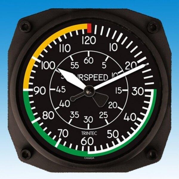 Reloj de velocidad del aire - Reloj de pared