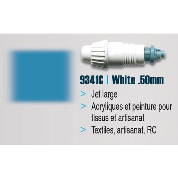 BOQUILLA GRANDE 0.50mm Blanco