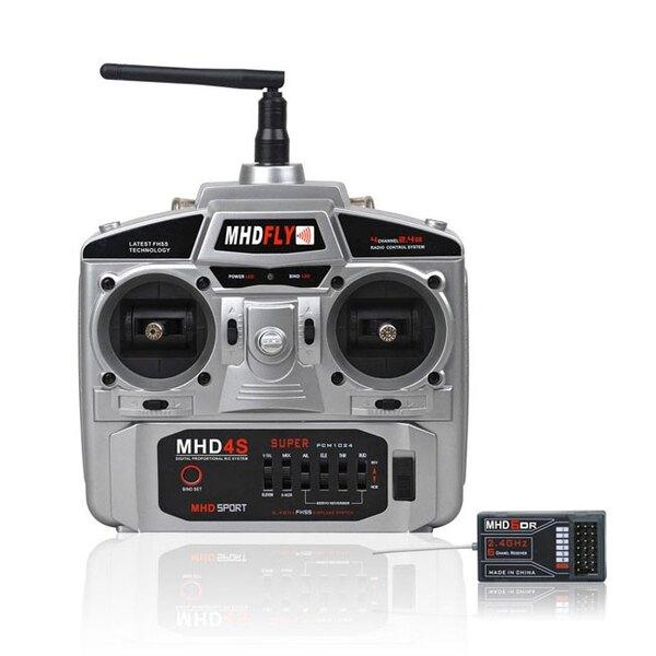 RADIO 4V MHD4S 2,4 GHz Modo 2
