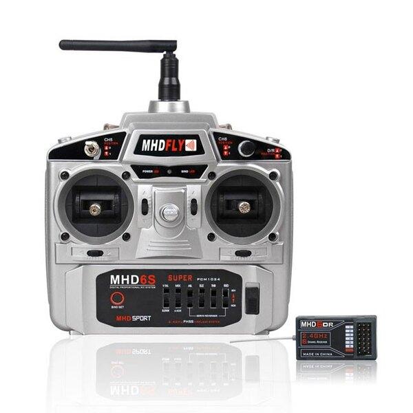 RADIO 6V MHD6S 2,4 GHz Modo 1