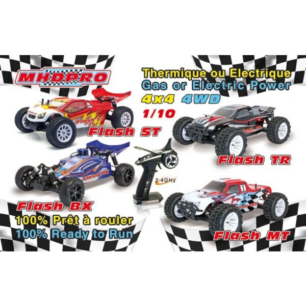 FLASH BUGGY RTR