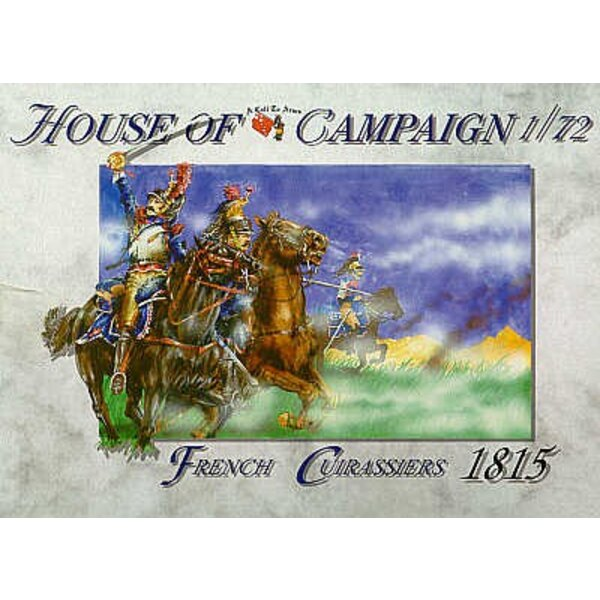 French Cuirassiers 1815 figures