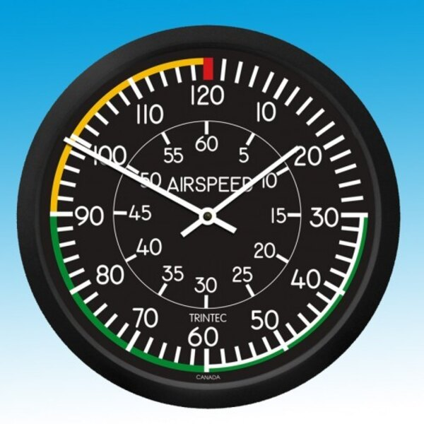 Holorge Airspeed - Round Wall Clock