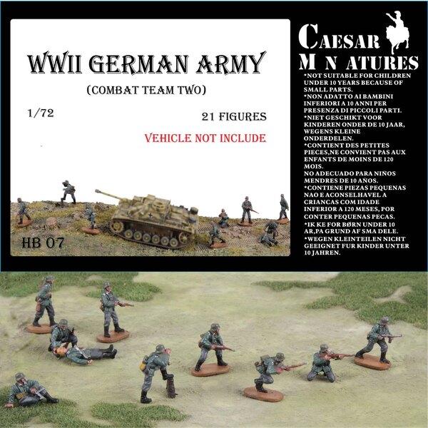Ejército GermanWWII equipo de combate 2
