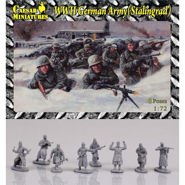 Ejército GermanWWII en Stalingrado