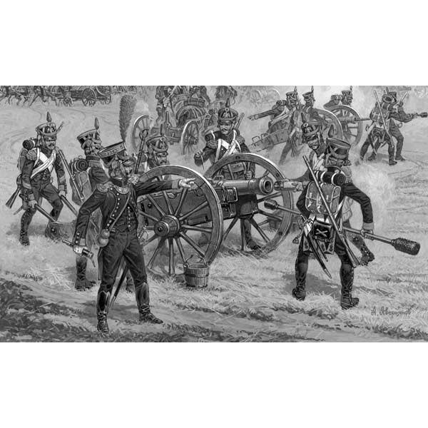 Artillería Foot francés
