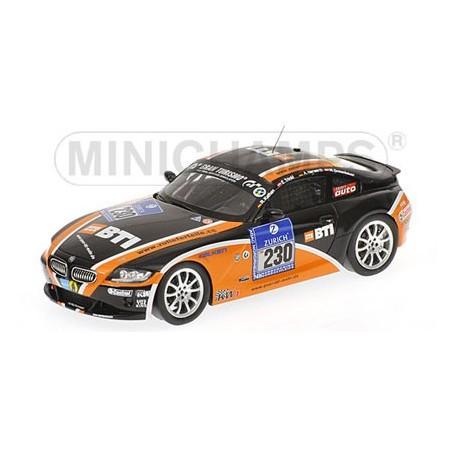 Bmw serie 2 coupé negro 1:43 Minichamps maqueta de coche