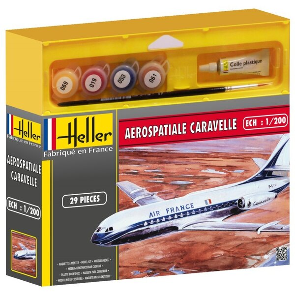Aerospatiale Caravelle Cadet - paints and brush included
