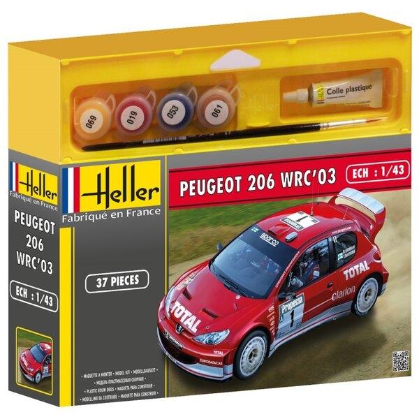 Peugeot 206 WRC 03 Kit 3