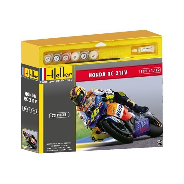 Honda Rc 211V Kit 6 1:12