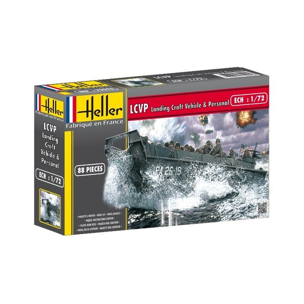 Lcvp Landing Craft Vehicle Personal 1:72