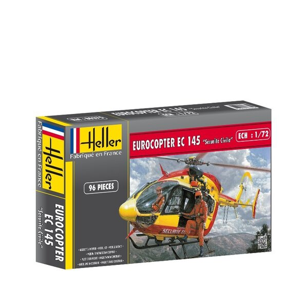 Eurocopter Ec145 French Civil Security 1:72