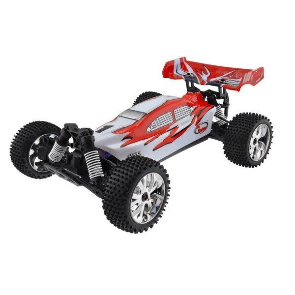 CAR BUGGY 1/10 Brushless RTR 4x4 (VARIO MOTOR RADIO + + 2.4 + AQ + CHAR)
