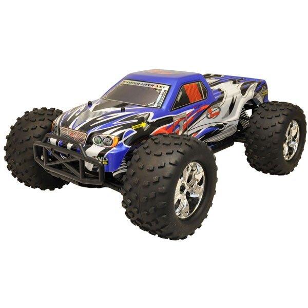 TRUCK CAR 1/10 Brushless RTR 4x4 (VARIO MOTOR RADIO + + 2.4 + AQ + CHAR)
