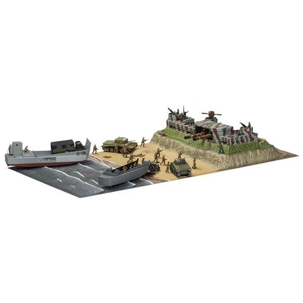 Día D Operación Overlord Gigante Set de regalo (regalo o conjunto de arranque con las pinturas, pincel y el cemento poli) Esta c