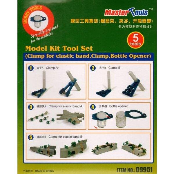 Modelo Tool Kit Ajuste â € Clamp para la banda elástica, Clamp, abrebotellas
